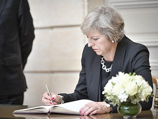 Prime Minister May's future is in European hands