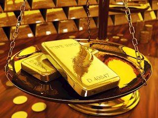 Gold Erholung nach gestrigem starken Abverkauf, Handel um 1280$