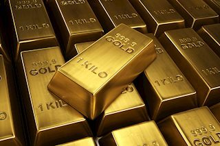 Gold corrects from 1-month tops, downside seems limited