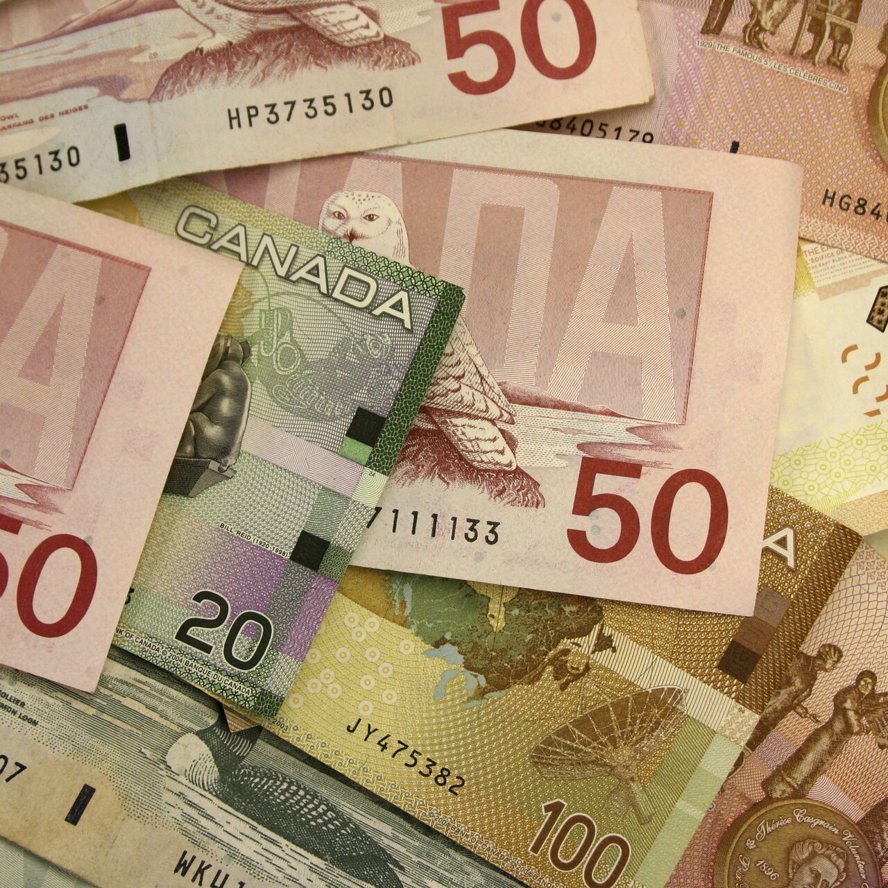 USD/CAD Canadian Dollar Higher as Fed Increases Downward