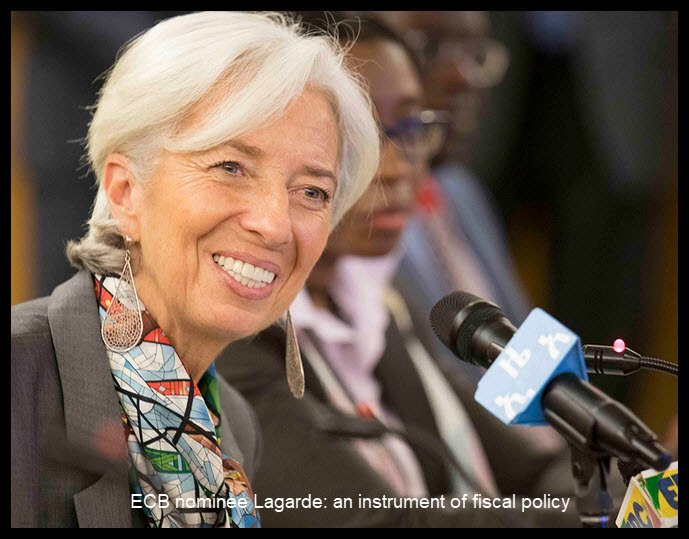 efbe8a287fc ... level last week in the global currency-devaluation olympiad. Nominating  the politically-minded IMF chief Christine Lagarde rather than a  blue-blooded ...