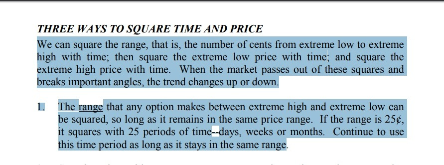 How To Trade W D Gann Square - Balancing of Price & Time